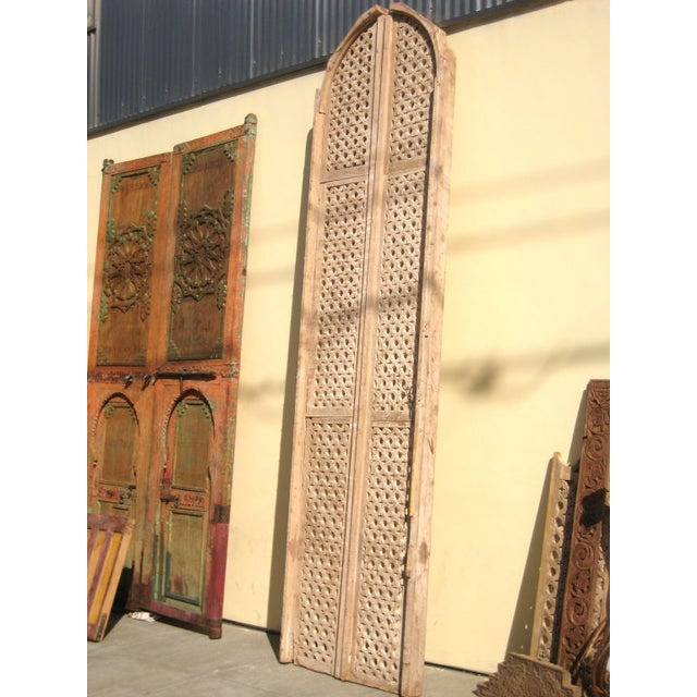This stately pair of gigantic Egyptian fruitwood panels would be a beautiful addition to any room in your home. Use this...