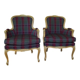 Ethan Allen French Chairs - A Pair For Sale