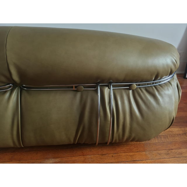1970s Soriana Sofa by Afra & Tobia Scarpa for Cassina For Sale - Image 11 of 13