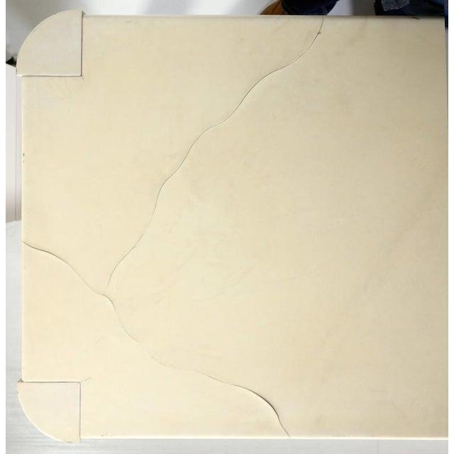 Vintage Parchment Desk by Karl Springer - Image 3 of 4