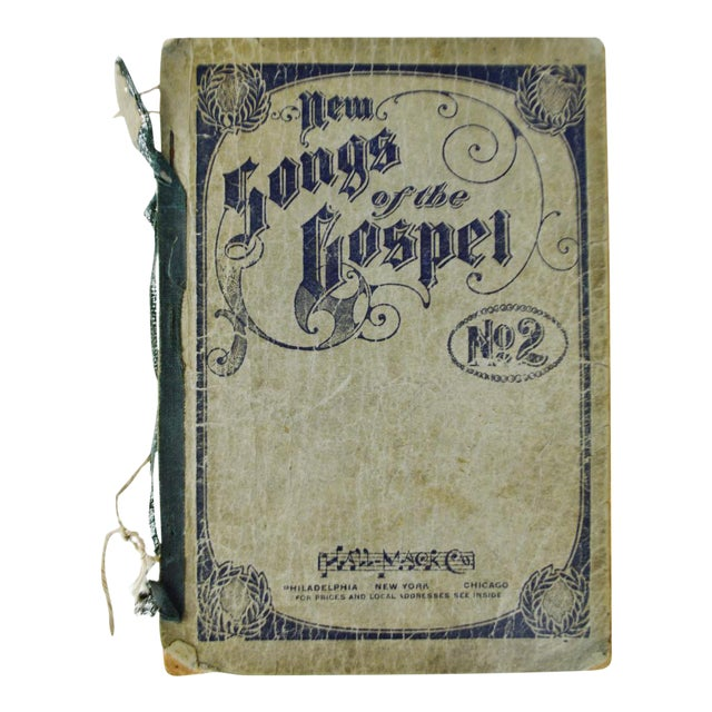 "1905 Antique ""New Songs of the Gospel No. 2"" Book - Image 1 of 9"