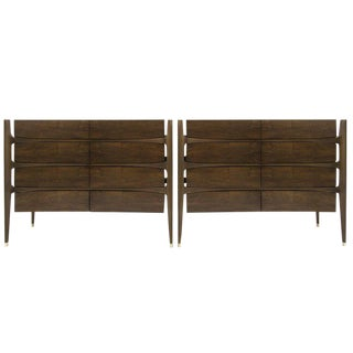 1950s Rosewood Chests by Jorgen Clausen for Brande Møbelfabrik, Denmark - a Pair For Sale