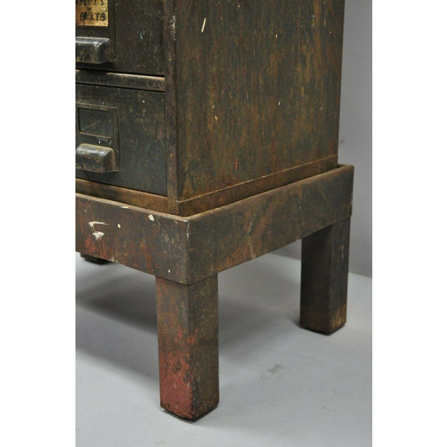 Early 20th Century Antique Industrial Cabinet For Sale - Image 5 of 11