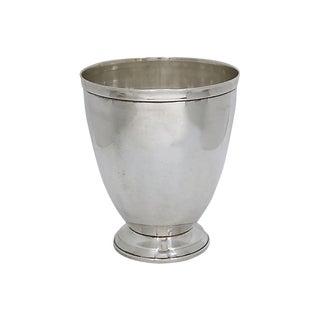 Vintage Silver-Plate Wine Chiller For Sale