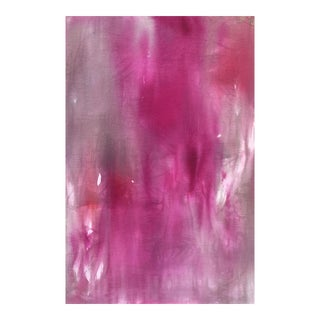 """Love Letter"" by Trixie Pitts Large Abstract Painting on Linen For Sale"