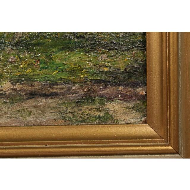 Danish Impression Oil Painting 'Flowering Tree' - Image 4 of 4