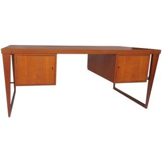 Kai Kristiansen Teak Desk Fm Møbler For Sale