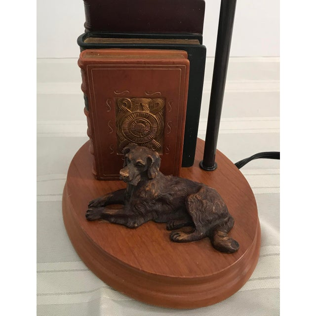 Dog and Book Collection Desk Lamp - Image 6 of 10
