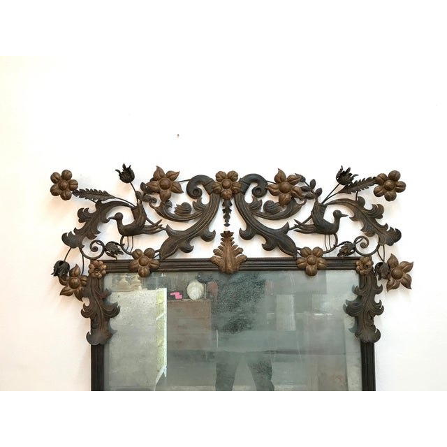 Vintage Custom Wall Mirror For Sale - Image 9 of 13