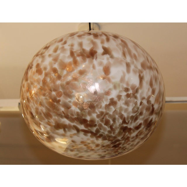 Murano Glass Large Pendant For Sale - Image 12 of 13
