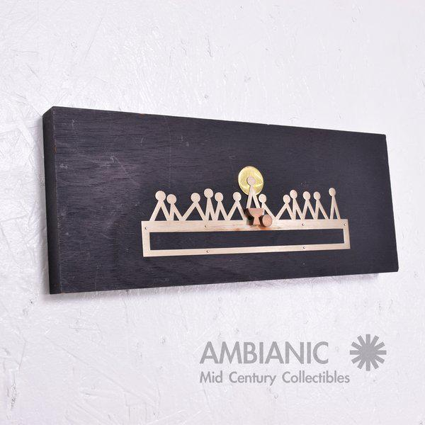 Brass Emaus Last Supper Wall Sculpture For Sale - Image 7 of 7