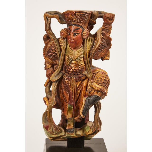 Pair of 20th Century Taiwanese Deity with Stand - Image 8 of 9