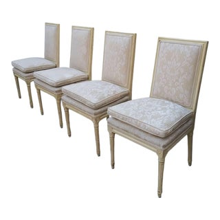Vintage Italian Dinning Chairs - Set of Four For Sale