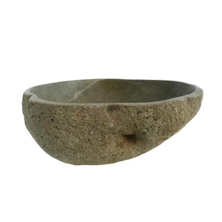 River Rock Bowl Medium For Sale