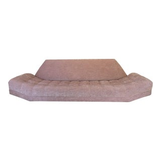 Modern Adrian Pearsall Style Pink Sofa For Sale