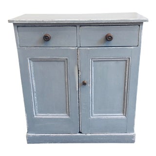 1930s Vintage Rustic Cupboard For Sale