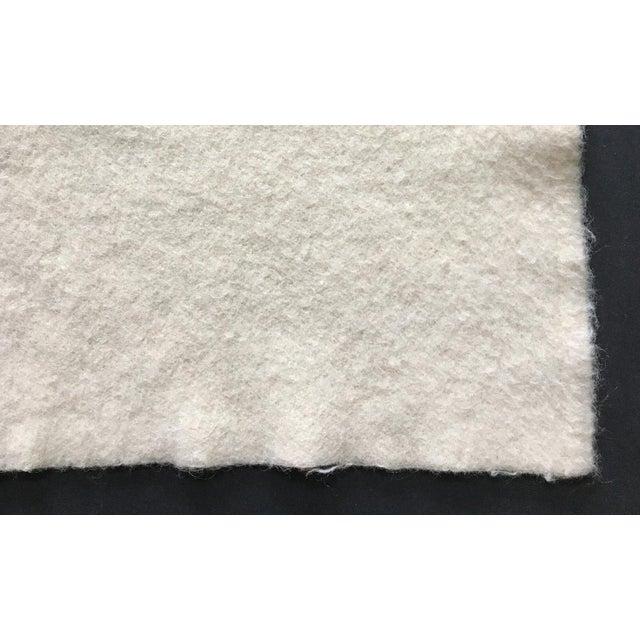Vintage 1960s Wool Blanket For Sale - Image 4 of 5