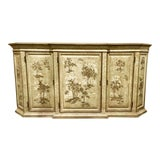 Image of Drexel Heritage Chinoiserie Sage Flanders Console Table/Sideboard For Sale