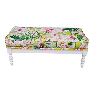 Palm Beach Chic Bobbin Bench For Sale