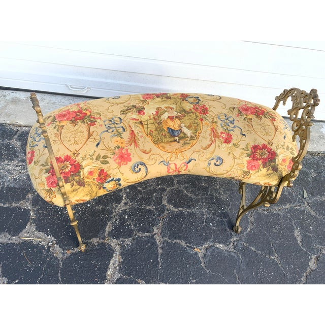 Early 20th Century French Boudoir Bench For Sale - Image 4 of 12