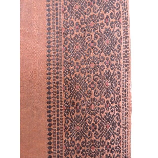 Mid 20th Century Fine Ottoman Empire Style Silk Wall Hanging, the Ruler's Residence For Sale - Image 5 of 7