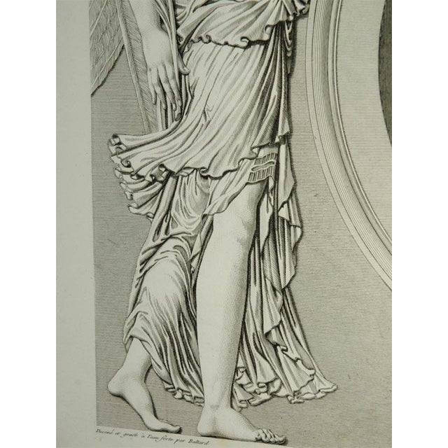 Mid 19th Century Early 19th Century Prints of the Louvre by Baltard - Set of 4 For Sale - Image 5 of 10