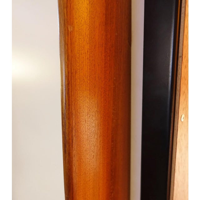 Wood Large Cabinet by Willy Van Der Meeren for Tubax, 1950's Italy - Completely Restored For Sale - Image 7 of 8
