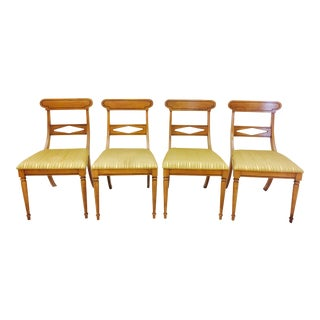 Vintage Dining Chairs- Set of 4 For Sale