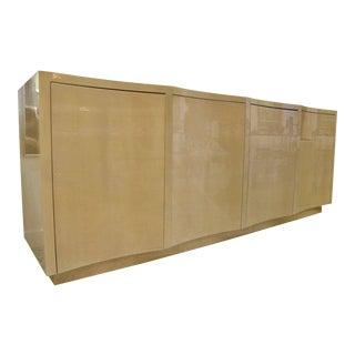 Art Deco Style Italian Buffet Cabinet With Convex Doors