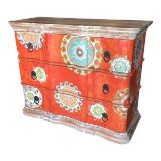 Guild Master Painted Cabinet Dresser