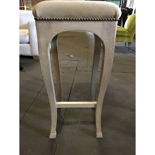 "Truex American Furniture ""Golden Gate"" Bar Stool - Image 4 of 5"