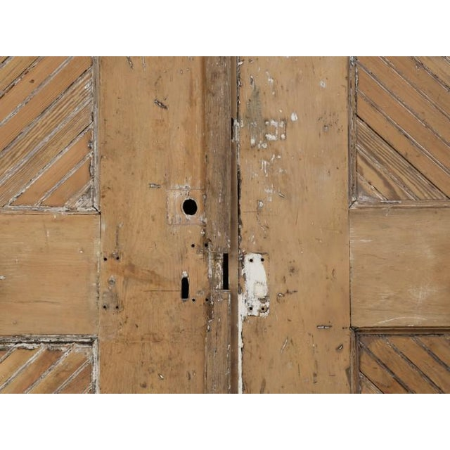 Rustic 1890s Antique American Barn or Garage Doors For Sale - Image 3 of 13