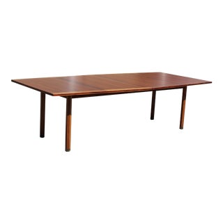 Mid-Century Modern Dunbar Expandable Dining Table