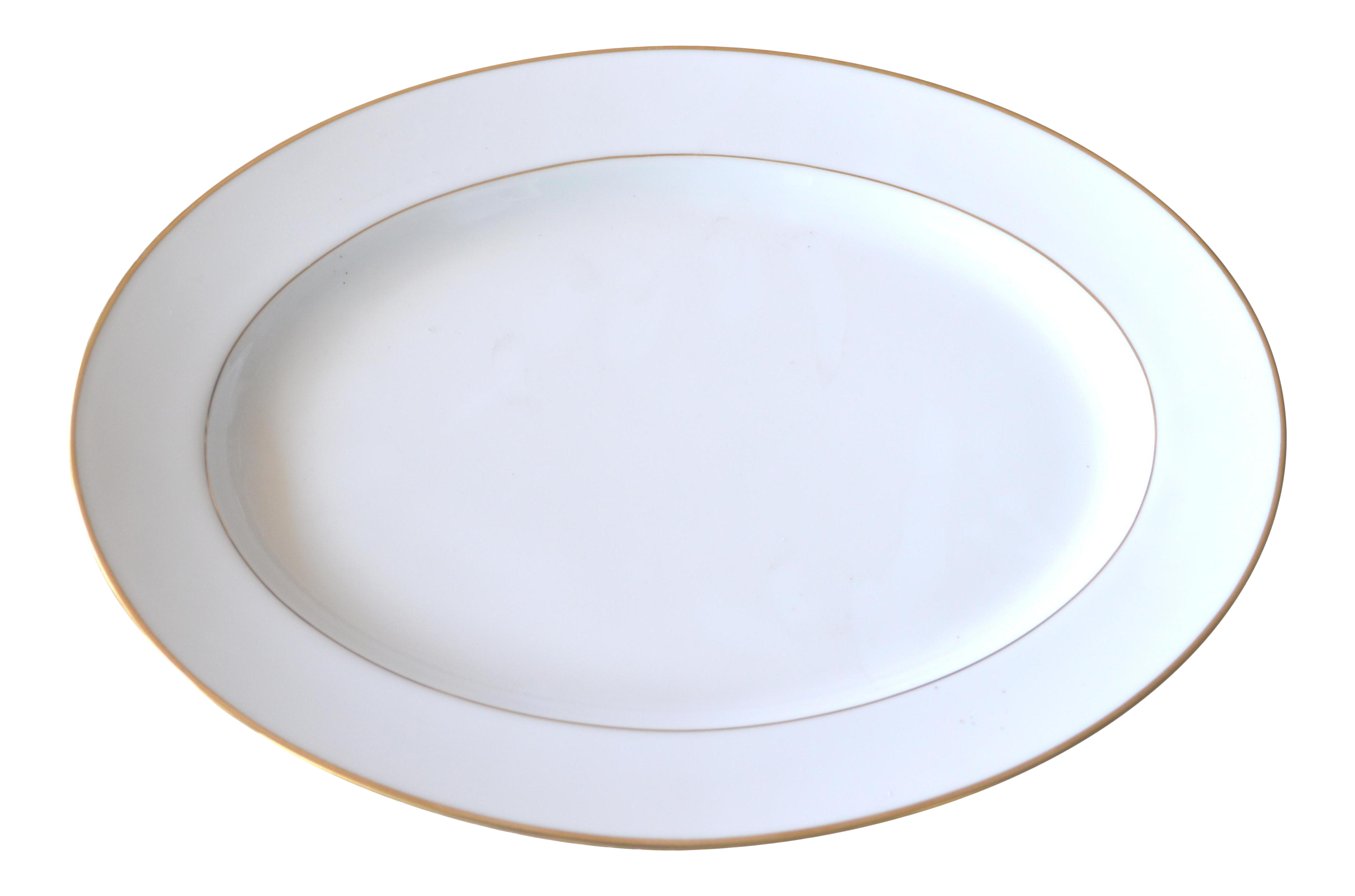Noritake Oval White Gold Serving Platter Porcelain Gold Edge Plate  sc 1 st  Chairish & Vintage \u0026 Used Bauhaus Tableware and Barware   Chairish