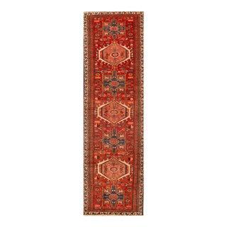 "Apadana - Vintage Persian Heriz Rug, 2'11"" x 10'2"""