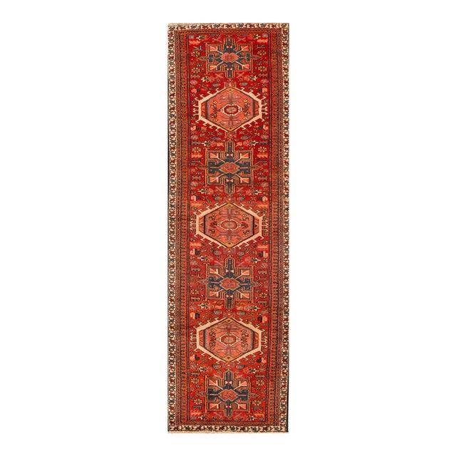 "Apadana - Vintage Persian Heriz Rug, 2'11"" x 10'2"" For Sale"
