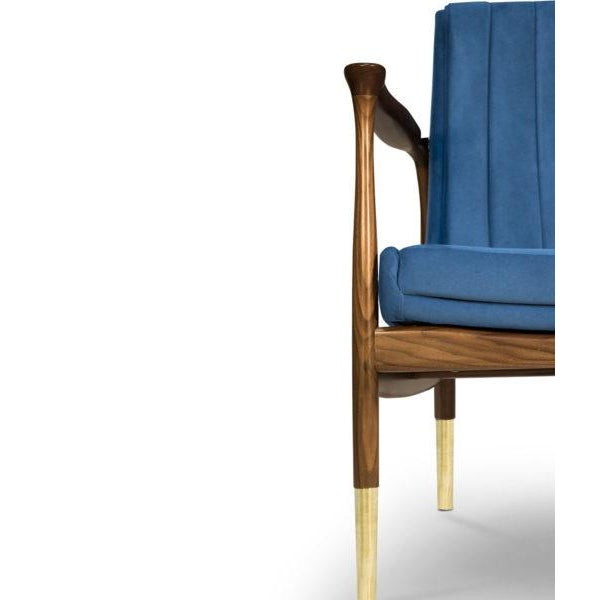 Not Yet Made - Made To Order Hudson Armchair From Covet Paris For Sale - Image 5 of 6