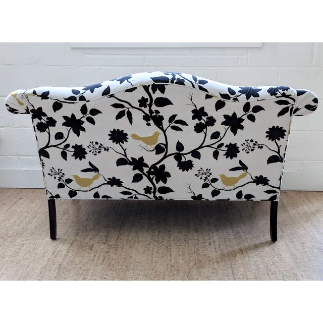 Chippendale Antique Queen Anne Sofa With Ball and Claw Feet - Restored For Sale - Image 3 of 11