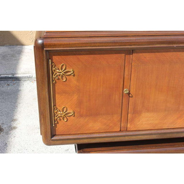 Art Deco 1930s Art Deco Four-Door Jean Desnos Palisander Sideboard or Buffet For Sale - Image 3 of 12