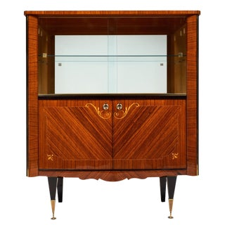 French Mid-Century Vintage Cabinet/Bar For Sale