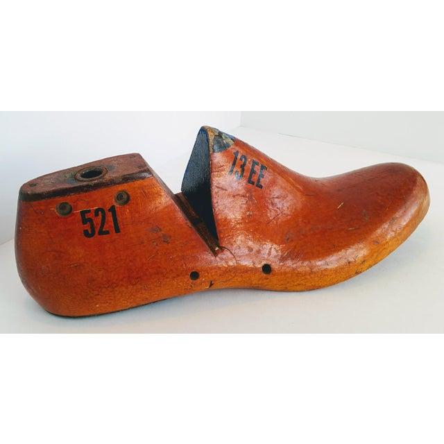 Primitive Vintage Shoe Form For Sale - Image 3 of 8