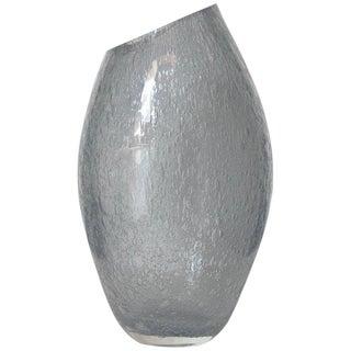 Italian Alberto Dona Murano Glass Pulegoso Vase Sculpture