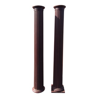 """Pair of Columns 99"""" X 17"""" X 16"""" For Sale"""