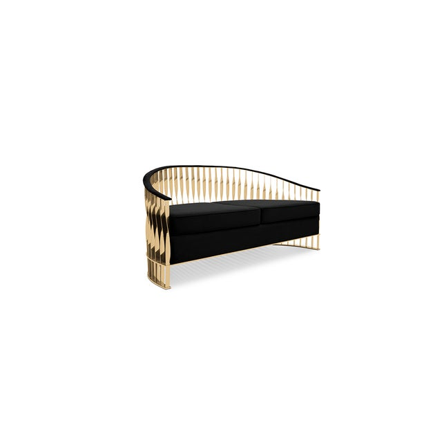 Mid-Century Modern Mandy Sofa From Covet Paris For Sale - Image 3 of 12