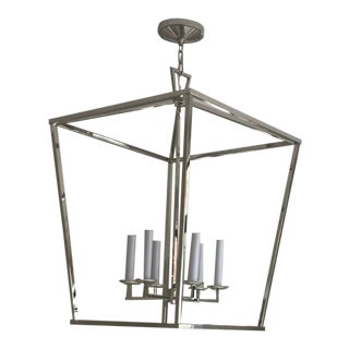 XL Darlana Lantern in Polished Nickel