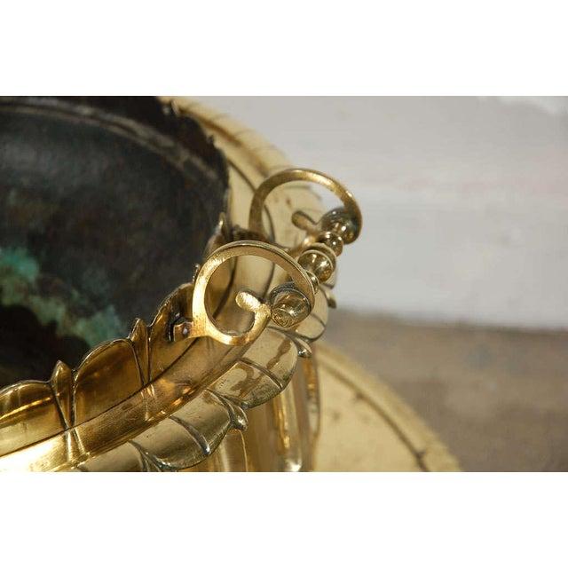 Middle Eastern Polished Brass Incense Burner For Sale In Los Angeles - Image 6 of 10