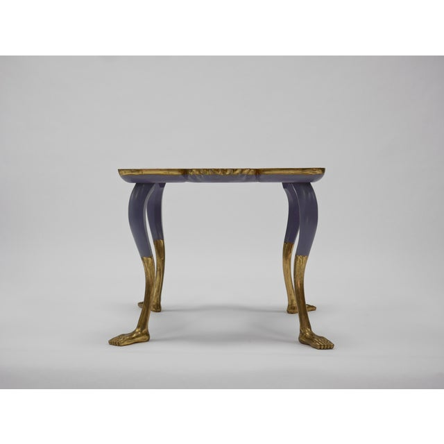 1980s Pedro Friedeberg Butterfly Table For Sale - Image 5 of 11