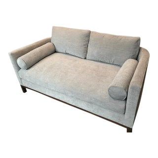 Modern Lawson Fenning Curved Back Sofa For Sale