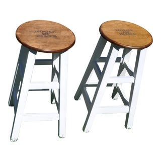 Original House of Blues Sunset Blvd. Barstools - a Pair