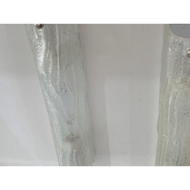 Mid-Century Modern Murano Doria Leuchten Style Sconces - a Pair For Sale - Image 10 of 13